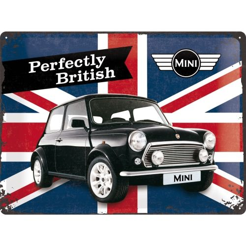 Blechschild-30x40-Mini-Perfectly-British