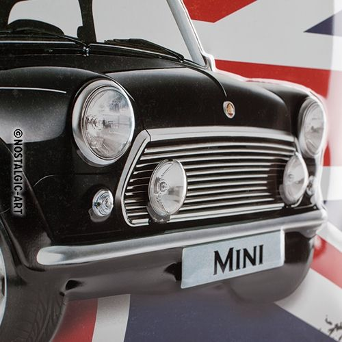 Blechschild-30x40-Mini-Perfectly-British-Detail