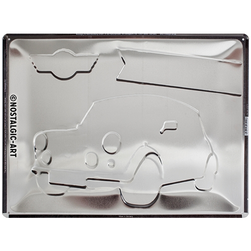 Blechschild-30x40-Mini-Perfectly-British-Rückseite