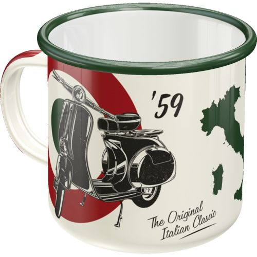 Emaille-Becher-Vespa-The-Italian-Classic-hinten