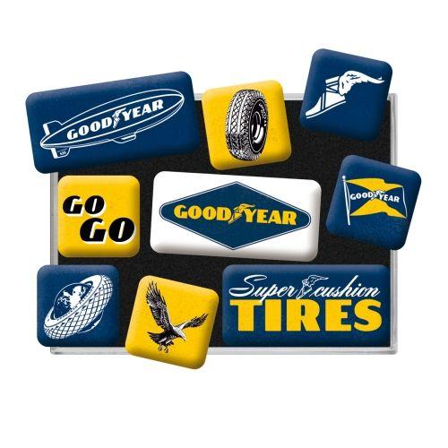 Magnet-Set-Goodyear-Logos-Detail