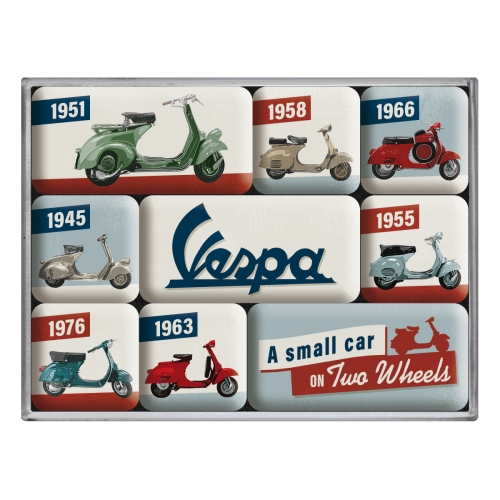 Magnet-Set-Vespa-Model-Chart