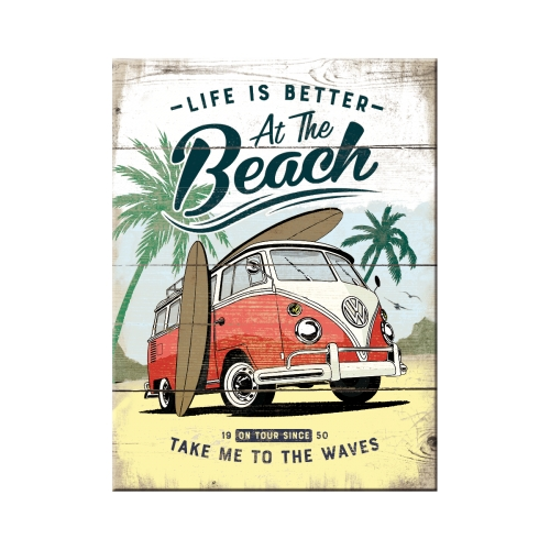 Magnet-VW-Bulli-Beach