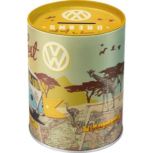 Spardose-VW-Bulli-Lets-Get-Lost-hinten