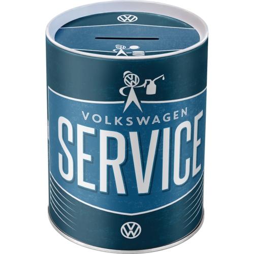 Spardose-VW-Service-vorn