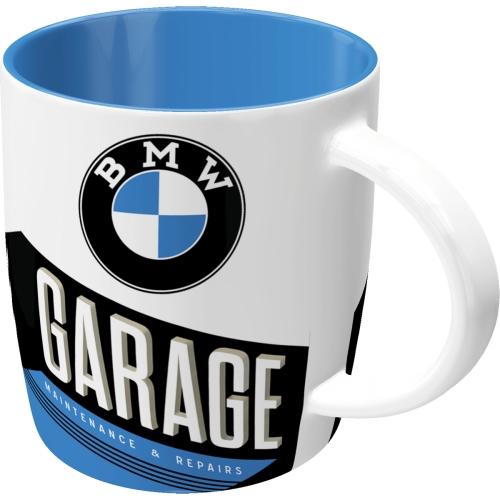Tasse-BMW-Garage-vorn