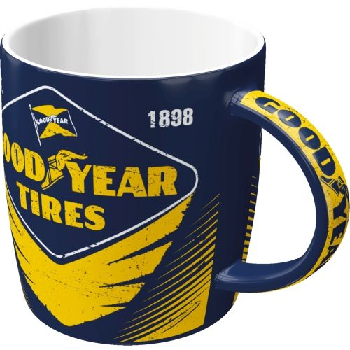 Tasse-Goodyear-Eagle-Tire-vorn