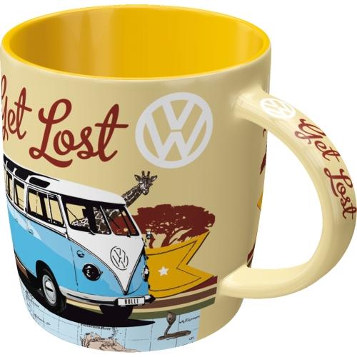 Tasse-VW-Bulli-Lets-Get-Lost-vorn
