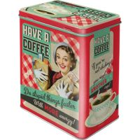 Vorratsdose-L-Have-A-Coffee-vorn
