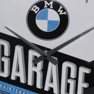 Wanduhr-BMW-Garage-detail