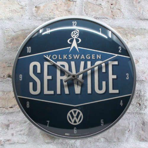 Wanduhr-Volkswagen-service