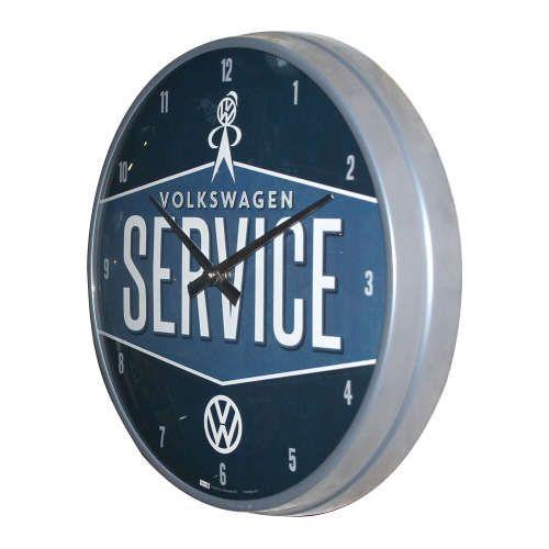 Wanduhr-Volkswagen-service-seite