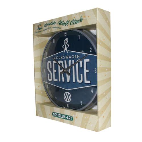 Wanduhr-Volkswagen-service-verpackt