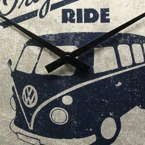 Wanduhr-Volkswagen-the original-ride-detail
