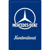 Blechschild 40x60-Mercedes-Benz-Kundendienst