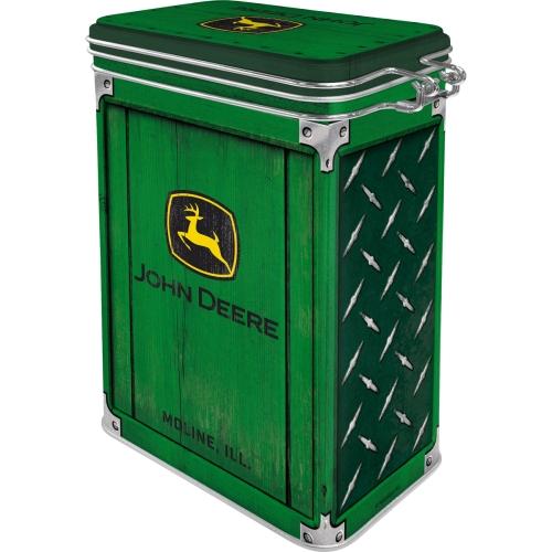 Aromadose-John-Deere-Diamond-Plate-Green-hinten