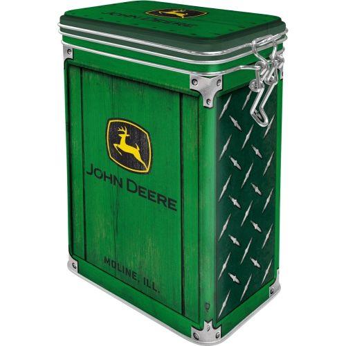 Aromadose-John-Deere-Diamond-Plate-Green-vorn