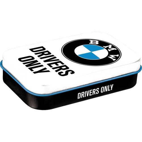 Pfefferminzdose XL-BMW-Drivers only