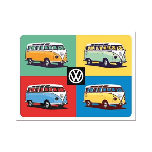 Magnet-VW-Bulli-Pop-Art