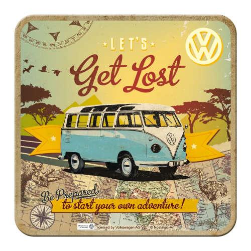 Metall-Untersetzer-VW-Bulli-Lets-Get-Lost