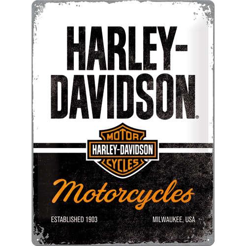 Blechschild 30x40 Harley-Davidson Motorcycles