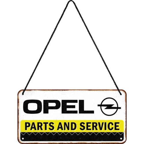 Hängeschild Opel Parts Service