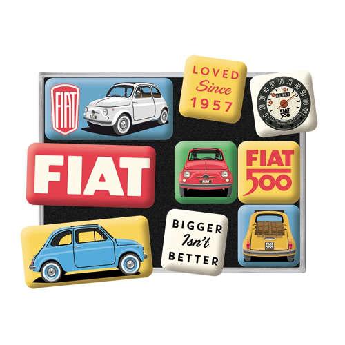 Magnet-Set Fiat 500 Loved Since 1957 detail