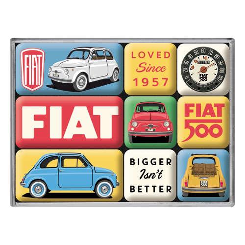 Magnet-Set Fiat 500 Loved Since 1957