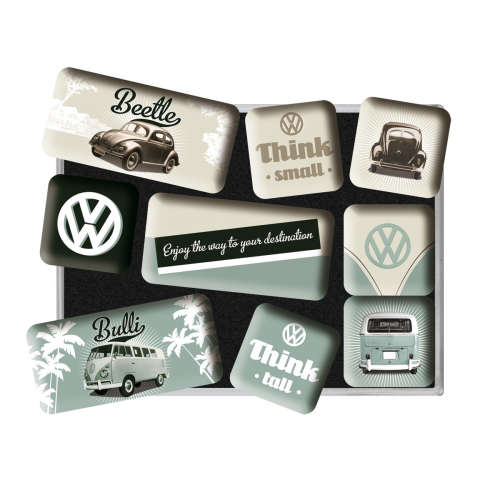 Magnet-Set VW Think Tall Small 2