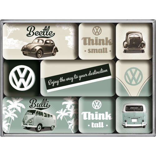 Magnet-Set VW Think Tall Small