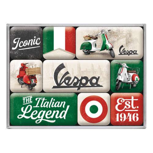 Magnet-Set Vespa Italian Legend
