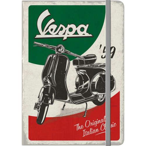 Notizbuch Vespa The Italian Classic