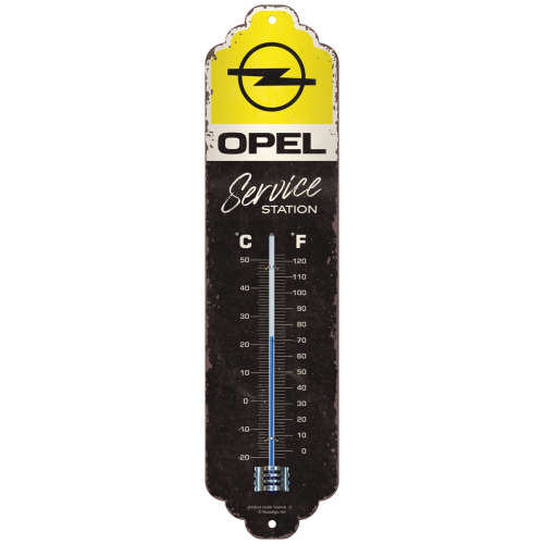 Thermometer Opel Service Station